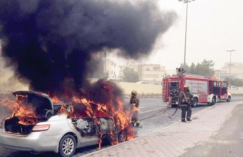 Kuwait: Asian got jailed for lighting cars in salmiya