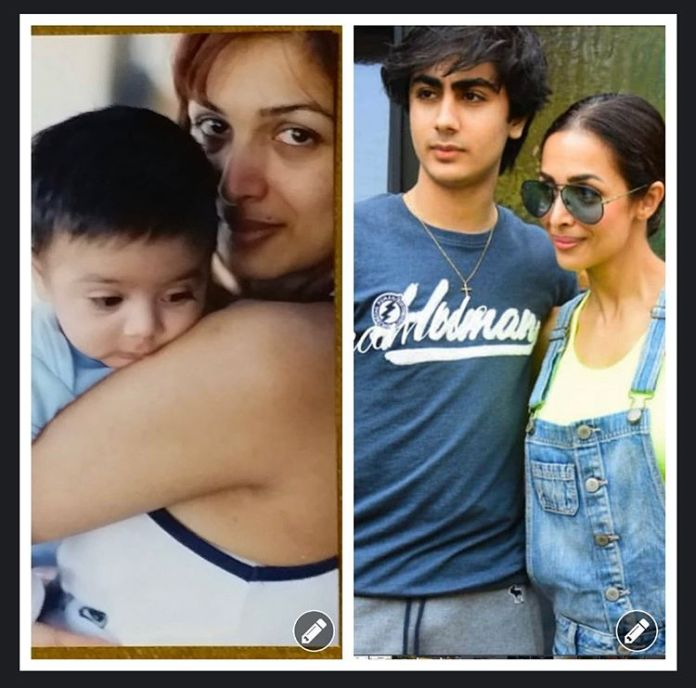 Malaika Arora and Arbaaz Khan mark the 17th anniversary of Arhaan Khan's baby boy