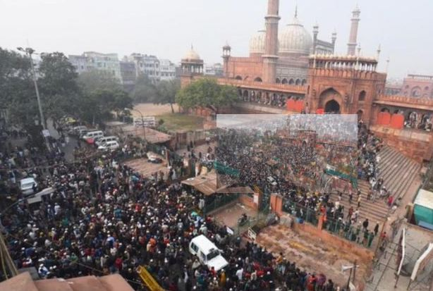 India: Due to Anti-CAA protests, Transportation howls in some areas of Old Delhi