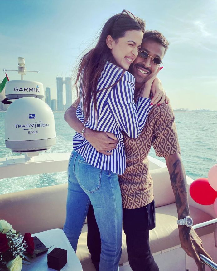 On New years, Hardik Pandya apparently makes his relationship with Natasa Stankovic Official