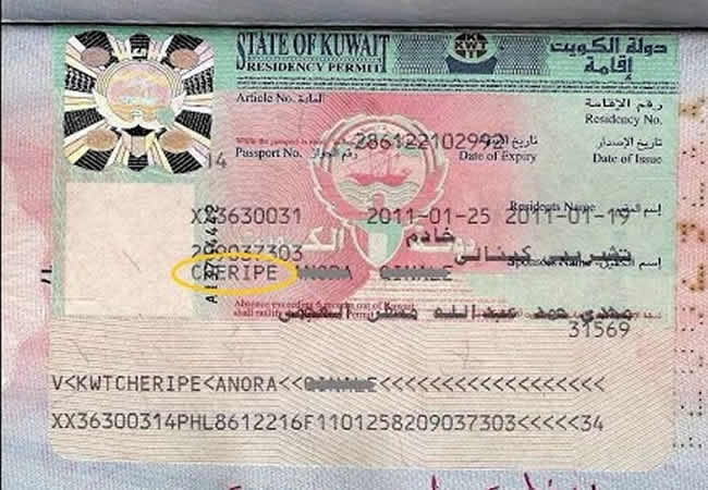 Visa traders seized; exorbitant prices ranging from KD 800 to KD 1,000