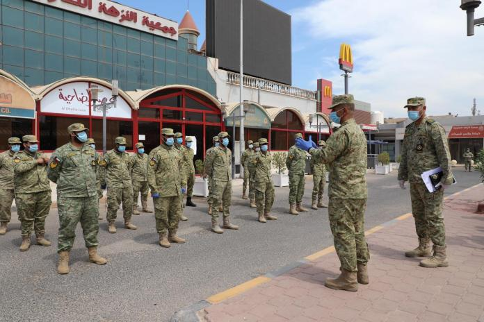 National Guard Deployed To Enforce Government Guidelines In Farwaniya
