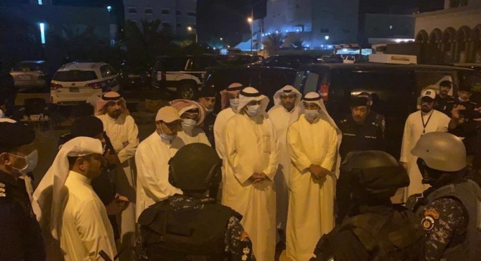 Armed Fugitive Shoots Himself In Kuwait