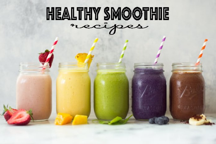 5 Healthy Smoothie Recipes