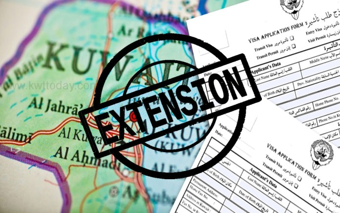 Extension of residency and visits visas to be done automatically till 30th November