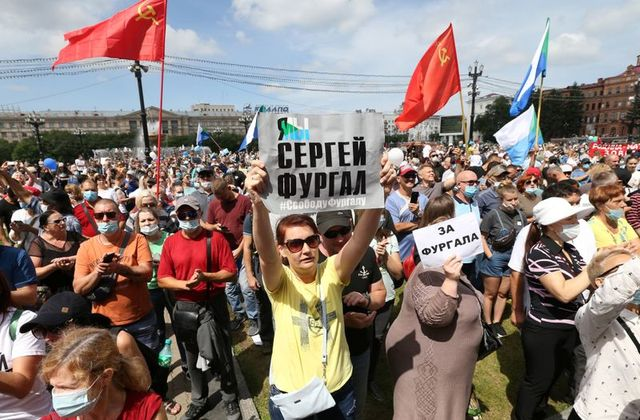 Russia - Protests cause more than 3000 to get detained