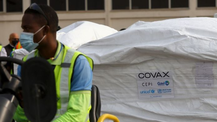Ghana becomes first country to receive free COVAX vaccines