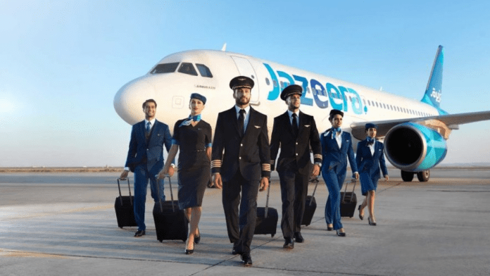 Jazeera Airways announces vaccination drive of pilots and cabin crew in Kuwait
