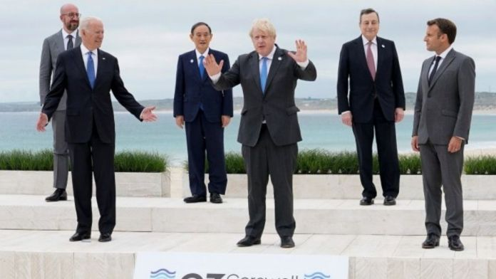 G7 leaders agree to tackle climate change as the summit ends