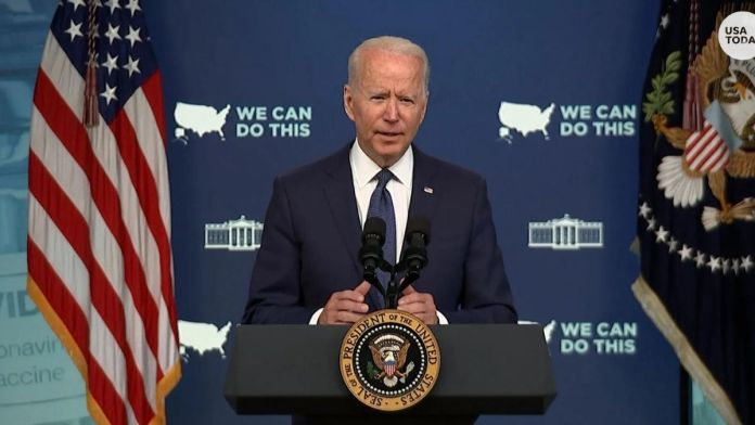 Biden : US to reach 160 million fully vaccinated citizens by the end of the week