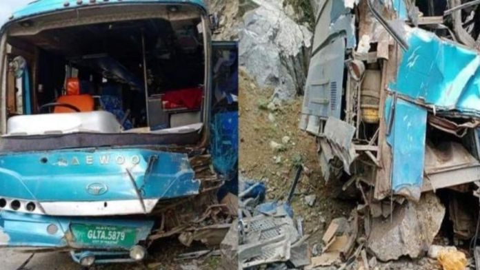 Pakistan : At least 13 killed and over 30 injured in a bus blast
