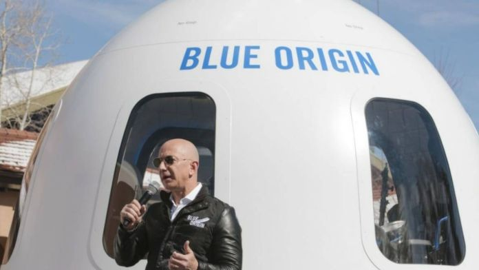 Jeff Bezos to fly to space on Blue Origin's space flight