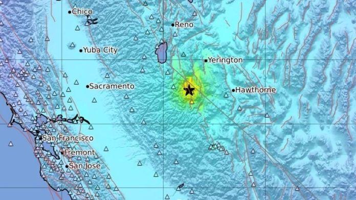 US : A 5.9 magnitude earthquake strikes California - Nevada border