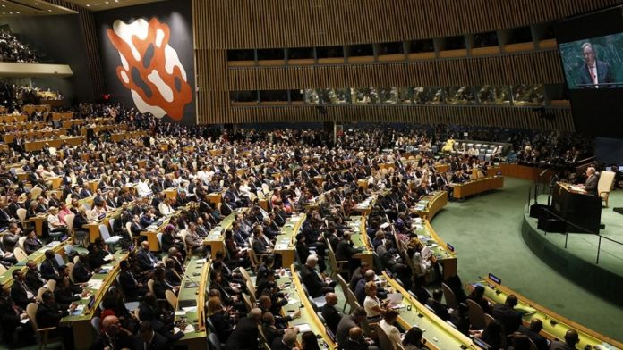Taliban asks to address U.N. Assembly in New York this week
