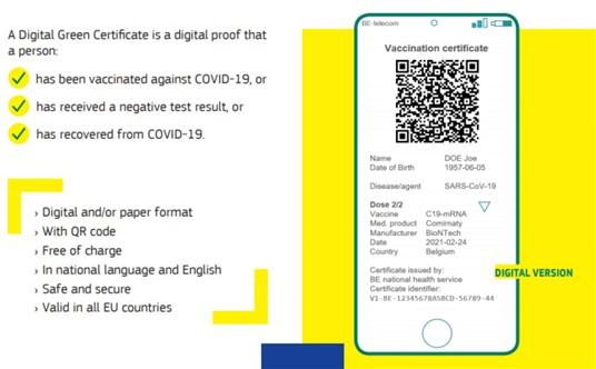 Europska komisija predstavila covid putovnice