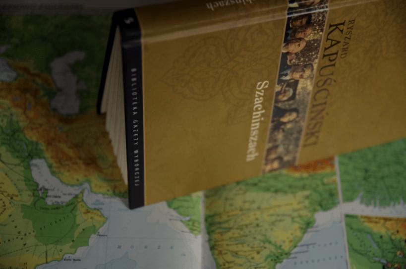 Szachinszach Kapuścińskiego - atlas świata