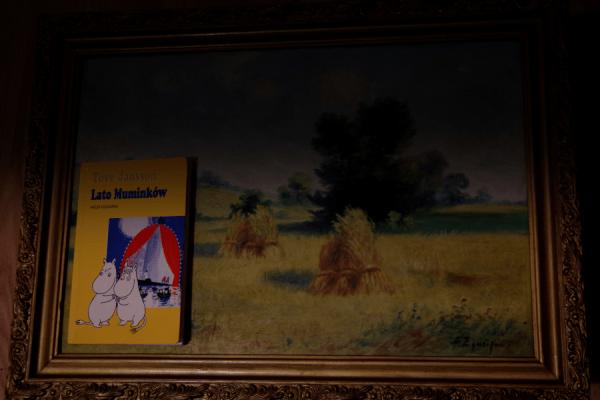 Lato Muminków - Tove Jansson - Okładka starego wydania