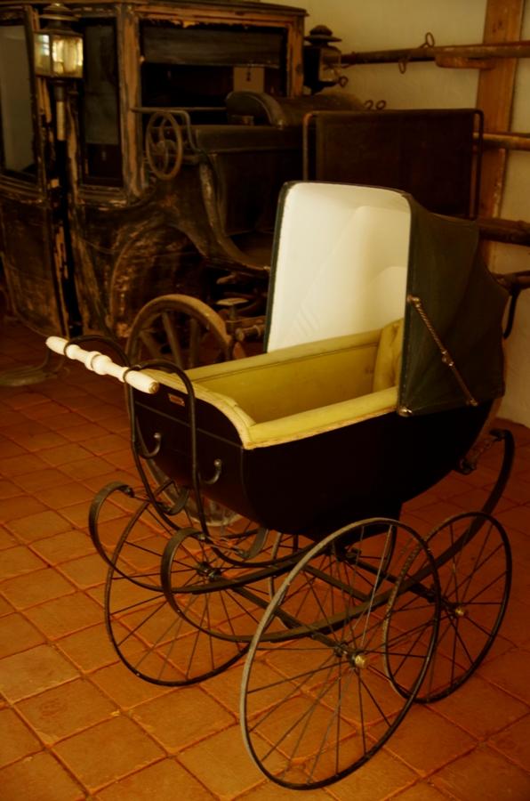 Zamek Velke Losiny - wózeczek