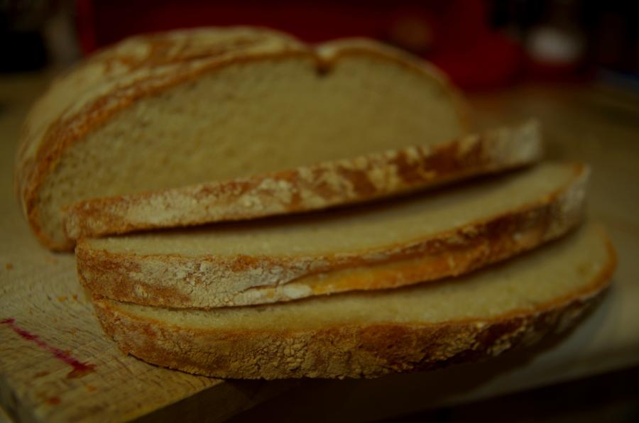Chleb drugi - Pszenny z kromeczkami