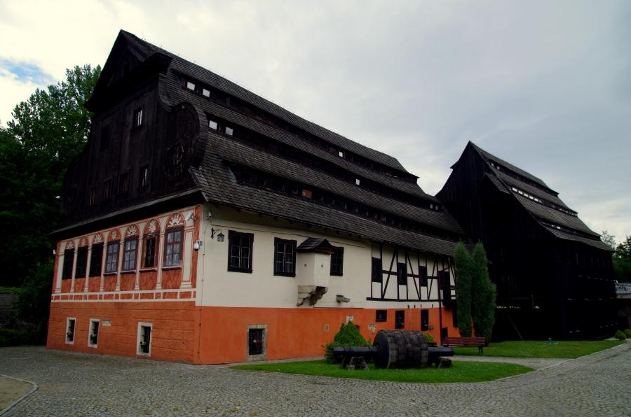 Uzdrowiska - Duszniki Zdrój - Muzeum Papiernictwa - budynki