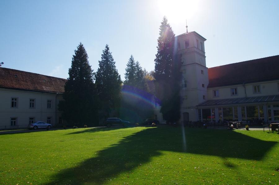 Uzdrowiska okolica - Trzebieszowice - Zamek na Skale - front
