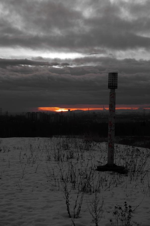 Alpy Wełnowieckie - gaz na hołdzie