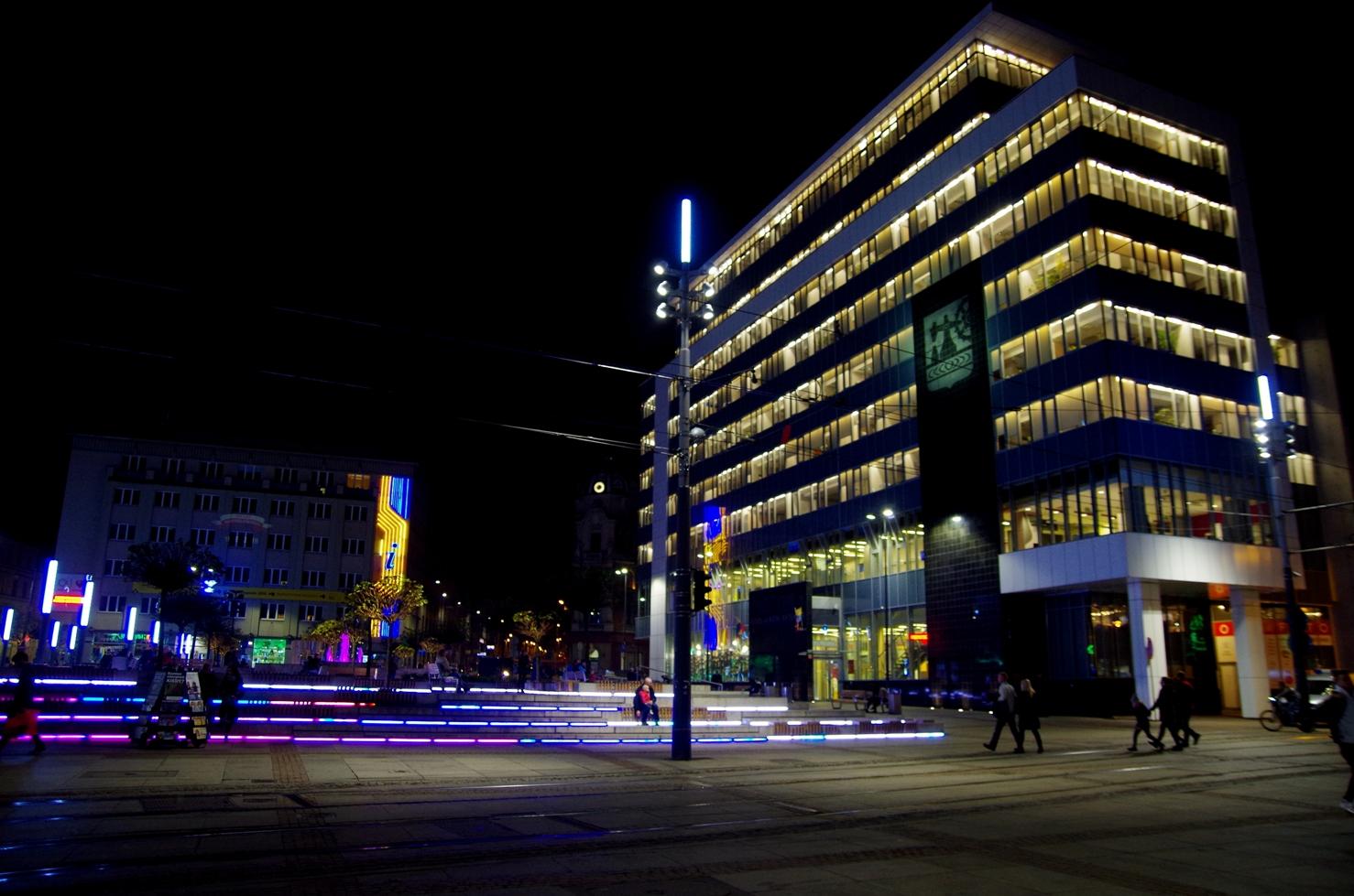 O tym jak poznać swoje miasto - Centrum Katowic - urząd miasta