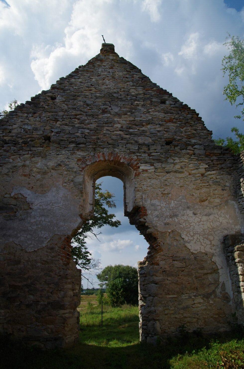 Huta Różaniecka - okno