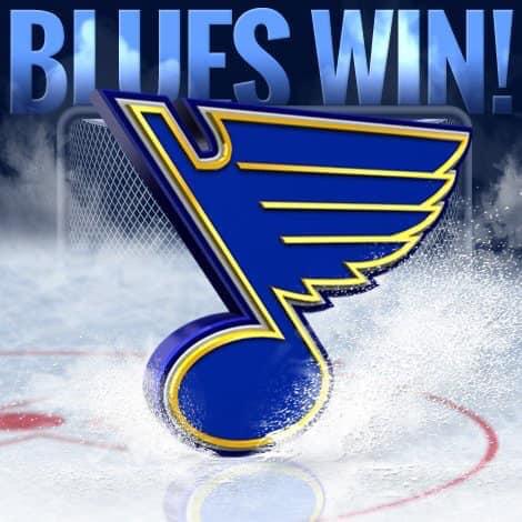 blues win
