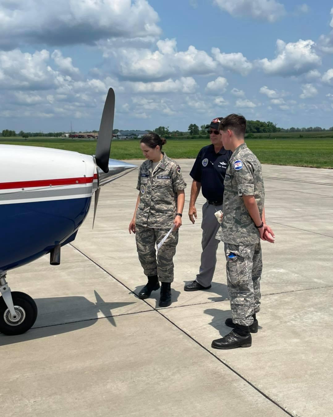Civil Air Patrol Cadet Camp At Missouri Military Academy