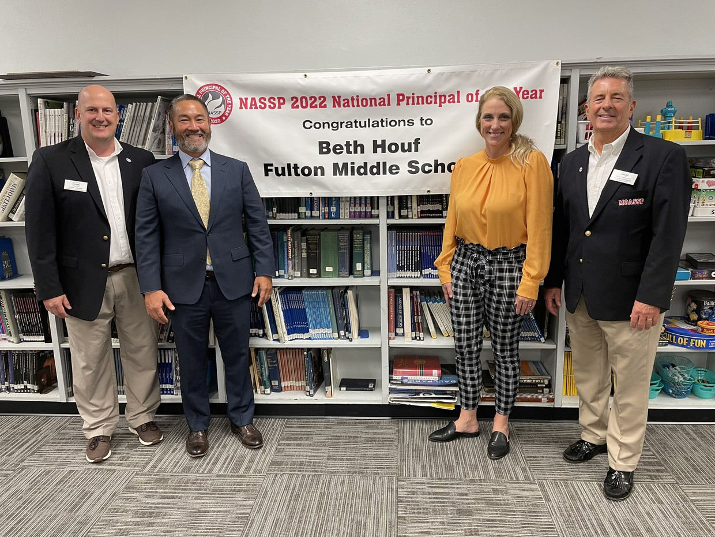 Fulton Principal Wins National Award