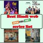 Best Hindi web series list watch with family