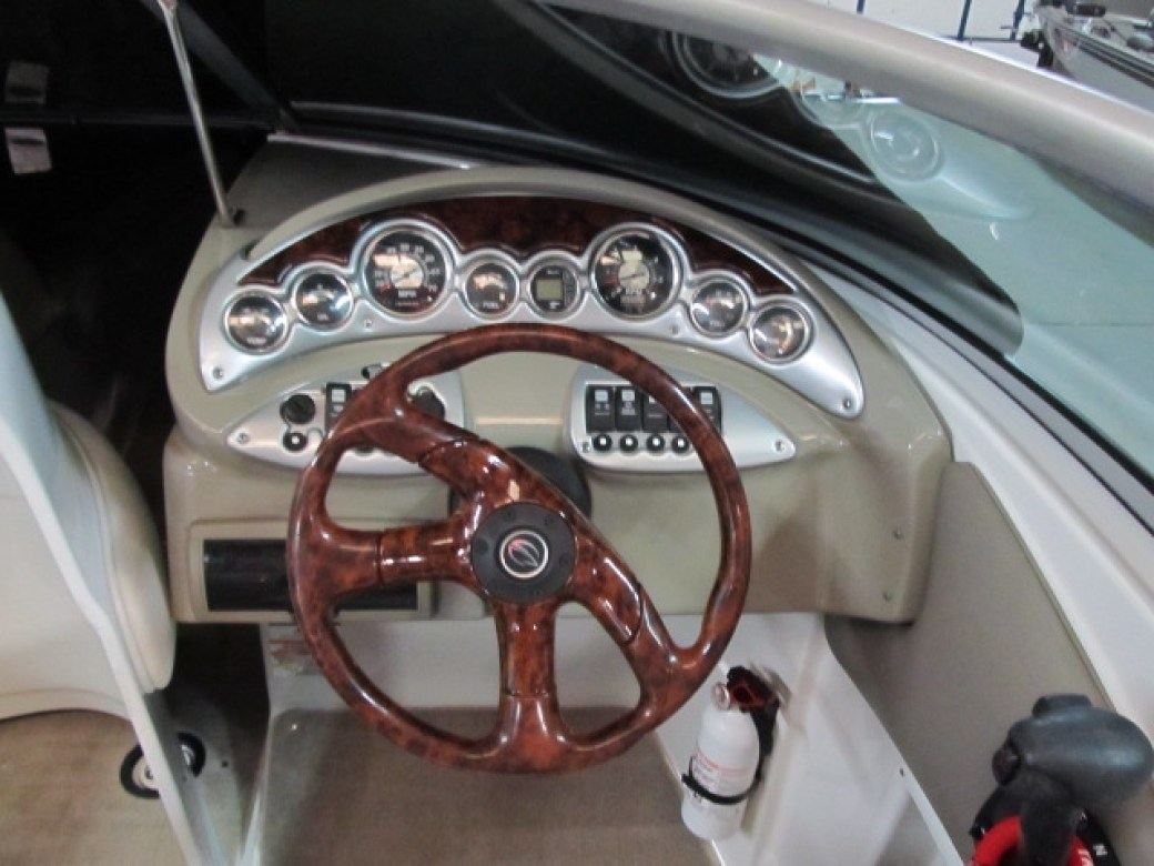 A ll Boats Service Center steering wheel