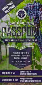 Santa Clara Wine Passport Image