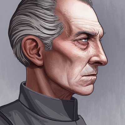 Tarkin by Mike Mitchell