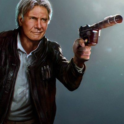 Han Solo by Mehdi Cheggour