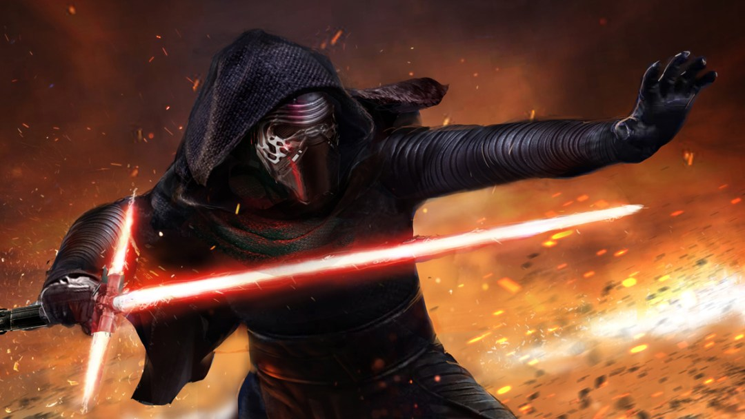 Kylo Ren by John Gallagher