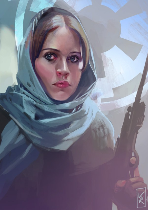 Jyn Erso by Claudia