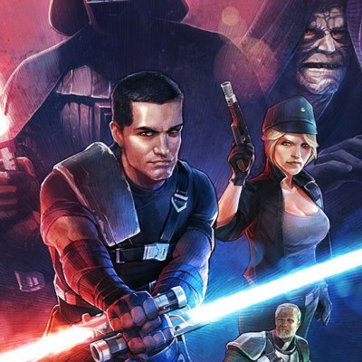 The Force Unleashed Poster by Adam Nichols