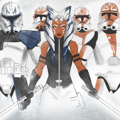 Ahsoka & Her Troops by Jake Bartok