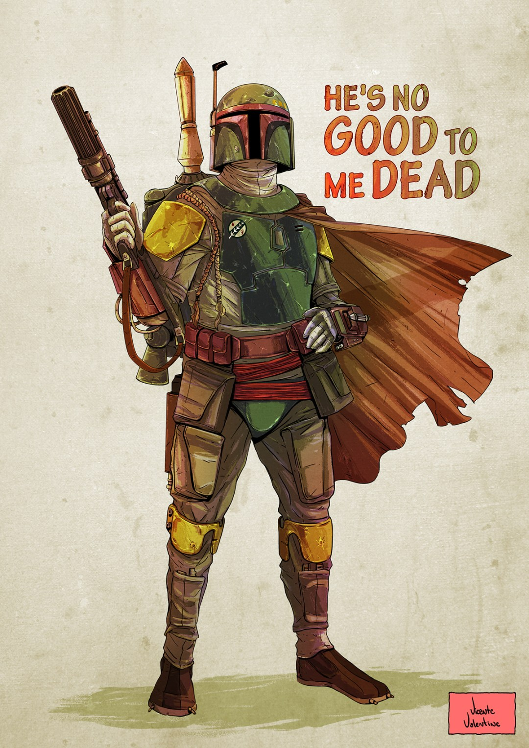 He's No Good To Me Dead by Vicente Valentine