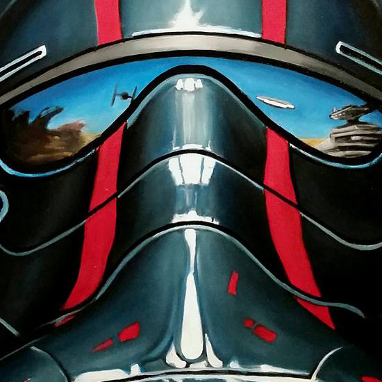 First Order TIE Pilot by Christian Waggoner