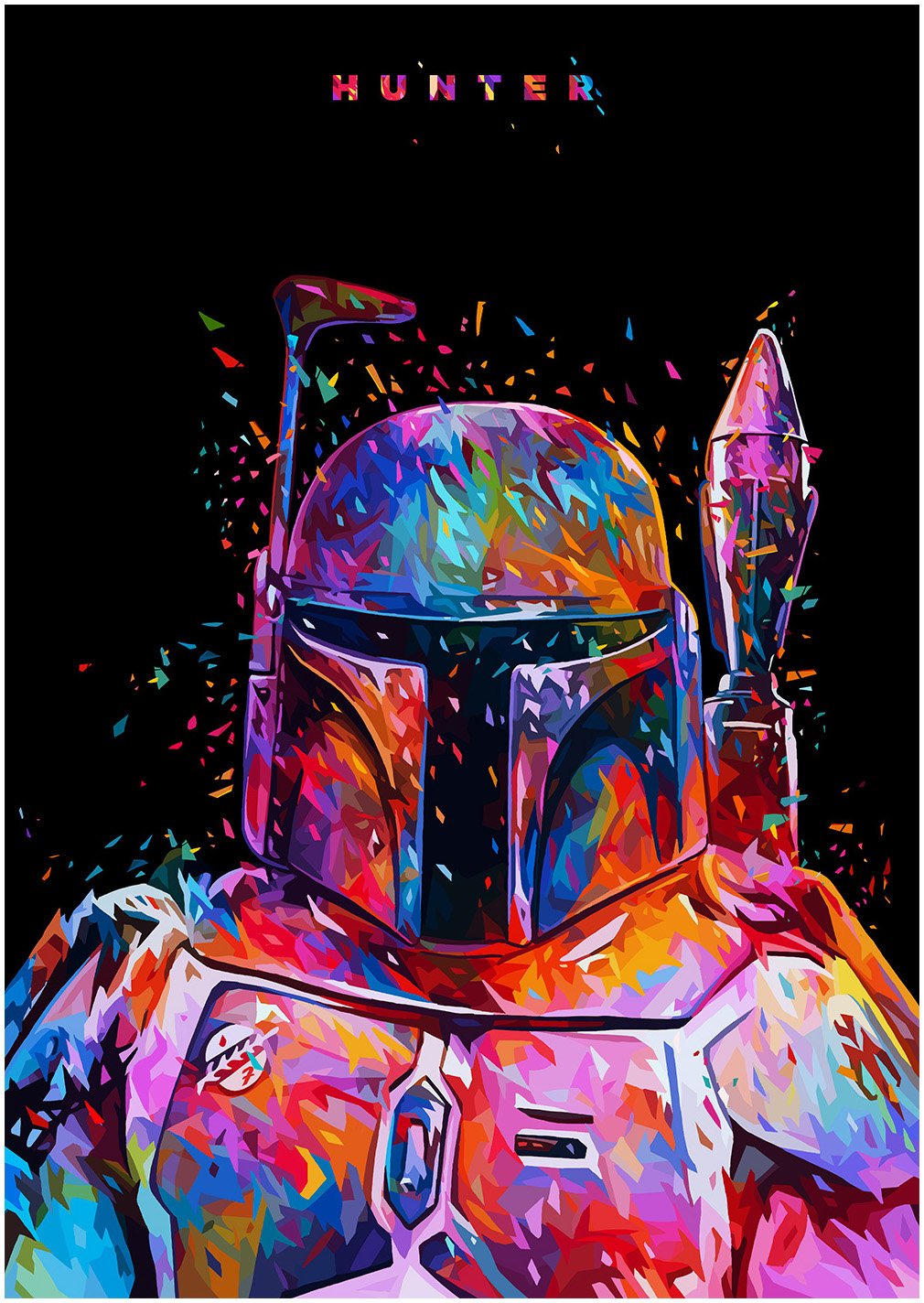 Star Wars Tribute - Boba Fett by Alessandro Pautasso