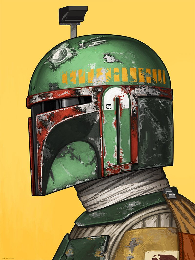 Boba Fett by Mike Mitchell