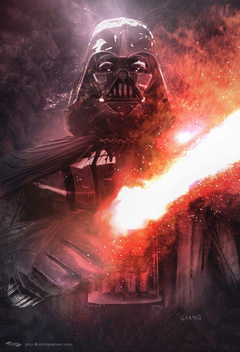 Darth Vader by John Giang