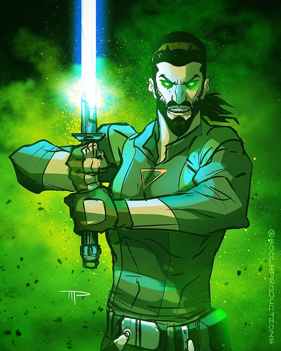 Kanan Jarrus by Michael Pasquale