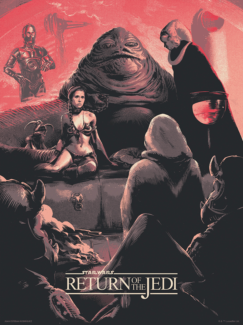 ROTJ Poster by Juan Rodriguez