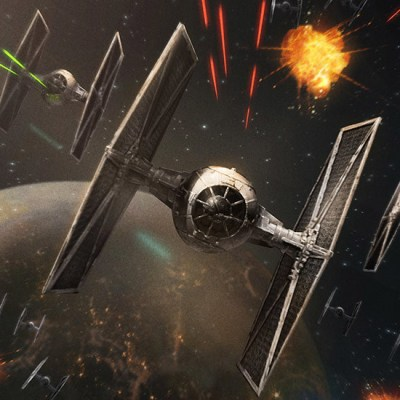 TIE Fighters by Ameen Naksewee