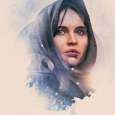 Seven Rogue One Character Portraits by Rich Davies