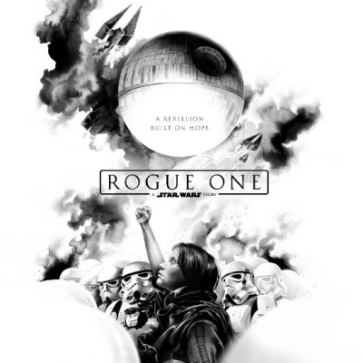 Rogue One Poster by Jérémy Paille